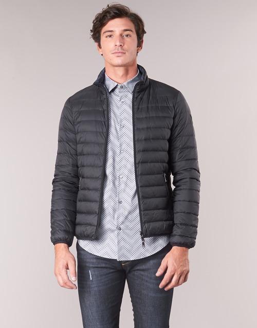 Textiel Heren Dons gevoerde jassen Emporio Armani TRAS Zwart