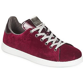Schoenen Dames Lage sneakers Victoria DEPORTIVO TERCIOPELO Bordeau