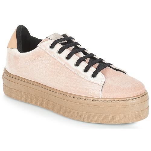 Schoenen Dames Lage sneakers Victoria DEPORTIVO TERCIOPELO/CARAM Beige
