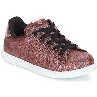 Schoenen Meisjes Lage sneakers Victoria DEPORTIVO METAL CREMALLERA Roze