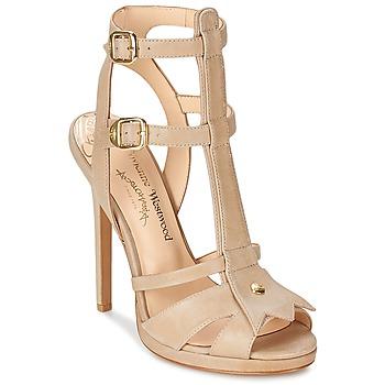 Schoenen Dames Sandalen / Open schoenen Vivienne Westwood CAVIL Beige