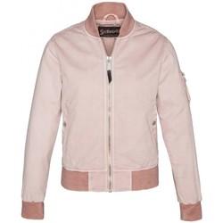 Textiel Dames Wind jackets Schott Blouson BOMBER  JKT NORTH   Blush Roze