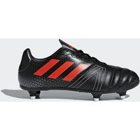 Schoenen Jongens Sneakers adidas Performance All Blacks SG Junior Rugbyschoenen Zwart / Rood / Purper