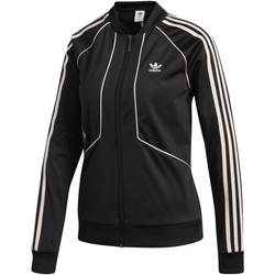 Textiel Dames Trainings jassen adidas Originals SST Trainingsjack Zwart