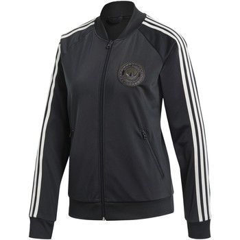 Textiel Dames Trainings jassen adidas Originals Adibreak SST Trainingsjack Grijs