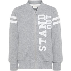 Textiel Jongens Sweaters / Sweatshirts Name It Kids NMMHBONE Gris