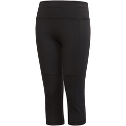 Textiel Meisjes Leggings adidas Performance Training Climachill 3/4 Legging Zwart