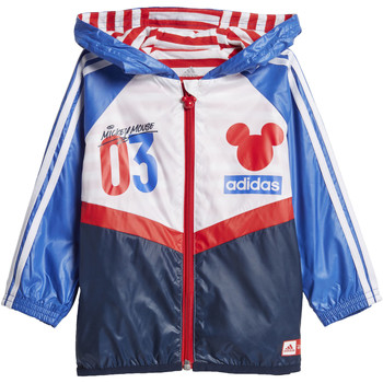 Textiel Meisjes Windjack adidas Performance Disney Mickey Mouse Windjack Donkerblauw / Wit