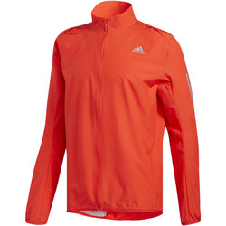 Textiel Heren Trainings jassen adidas Performance Response Wind Jack Oranje / Rood