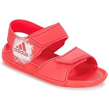Schoenen Meisjes Sandalen / Open schoenen adidas Performance ALTASWIM C Roze