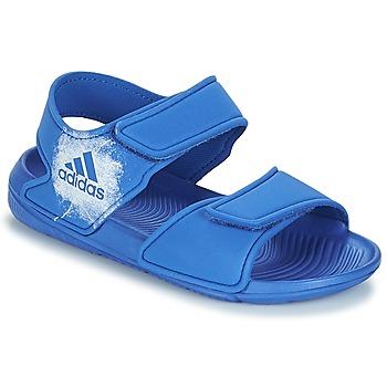 Schoenen Kinderen Sandalen / Open schoenen adidas Performance ALTASWIM C Blauw