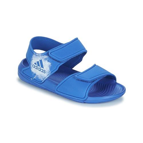 new arrival c1619 d1cd7 Schoenen Kinderen Sandalen  Open schoenen adidas Originals ALTASWIM C Blauw