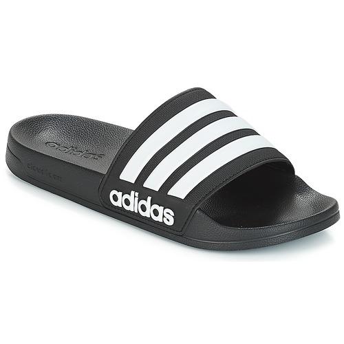 Schoenen slippers adidas Performance ADILETTE SHOWER Zwart