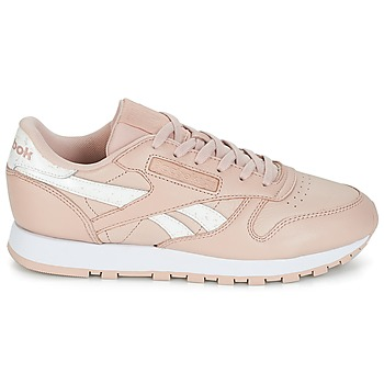 a3456633f30 goed wreapped Schoenen Dames Lage sneakers Reebok Classic CLASSIC LEATHER  Roze / Wit
