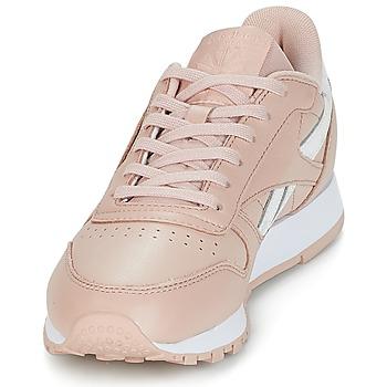 23a9d7d45f1 goed wreapped Schoenen Dames Lage sneakers Reebok Classic CLASSIC LEATHER  Roze / Wit