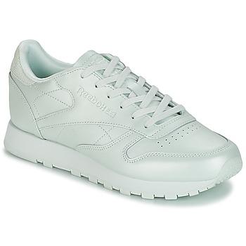 Schoenen Dames Lage sneakers Reebok Classic CLASSIC LEATHER Groen