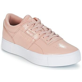 Schoenen Dames Lage sneakers Reebok Classic WORKOUT LO FVS Roze