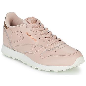 Schoenen Meisjes Lage sneakers Reebok Classic CLASSIC LEATHER J Roze