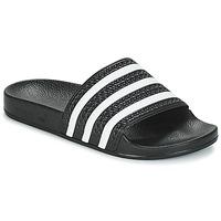 Schoenen slippers adidas Originals ADILETTE Zwart / Wit