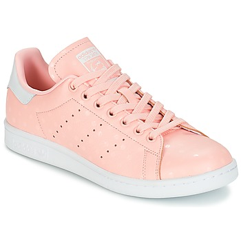 Schoenen Dames Lage sneakers adidas Originals STAN SMITH W Roze