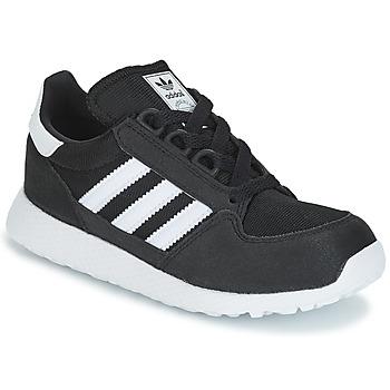 Schoenen Kinderen Lage sneakers adidas Originals OREGON C Zwart