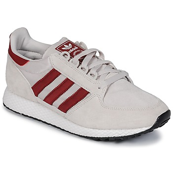 Schoenen Lage sneakers adidas Originals OREGON Beige / Rood