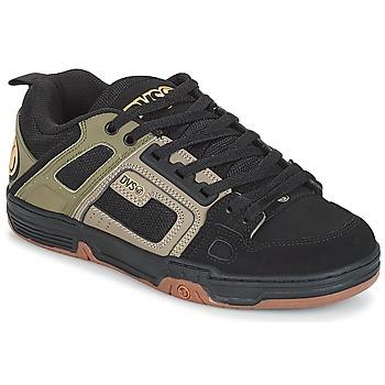 Schoenen Lage sneakers DVS COMANCHE Grijs / Zwart