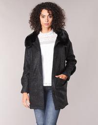 Textiel Dames Mantel jassen Molly Bracken QUIEN Zwart