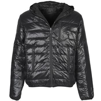 Textiel Heren Dons gevoerde jassen Umbro DIAMOND-DOUDOUNE-NOIR-SCHISTE Zwart