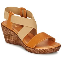 Schoenen Dames Sandalen / Open schoenen Lotus EMILIANO Bruin / Beige