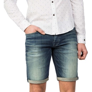 Textiel Heren Korte broeken / Bermuda's Cast Iron Cope short worn in vintage worn in vintage Denim