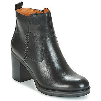 Schoenen Dames Enkellaarzen Pikolinos POMPEYA W9T Zwart
