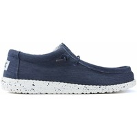 Schoenen Heren Mocassins Dude SCHOENEN  WALLY STRETCH M 11038 BLUE