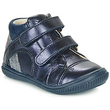 Schoenen Meisjes Hoge sneakers GBB ROXANE Blauw