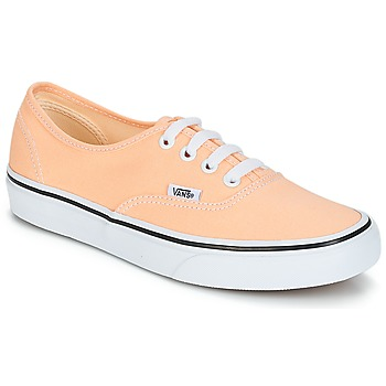 Schoenen Dames Lage sneakers Vans AUTHENTIC Beige