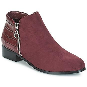 Schoenen Dames Laarzen Moony Mood JADE Maroon