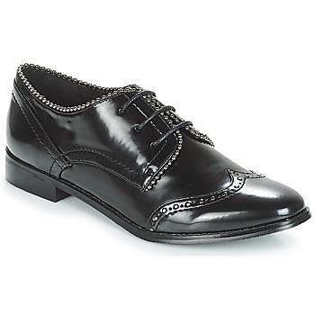 Schoenen Dames Derby Moony Mood JENNY Zwart