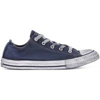 Schoenen Jongens Lage sneakers Converse ALL STAR LO CANVAS LTD NAVY Blu