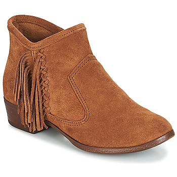 Schoenen Dames Enkellaarzen Minnetonka BLAKE BOOT Camel