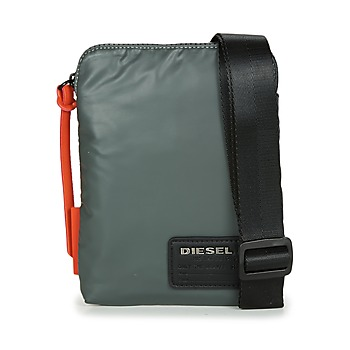 Tassen Heren Tasjes / Handtasjes Diesel DISCOVER SMALLCROSS Grijs / Oranje