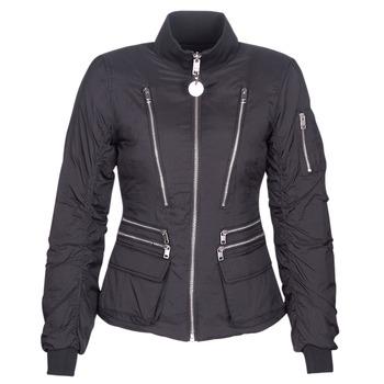 Textiel Dames Dons gevoerde jassen Diesel W-BLANKYT Zwart