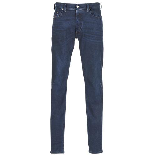 Textiel Heren Skinny jeans Diesel TEPPHAR Blauw / 084zc