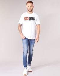 Textiel Heren Skinny Jeans Diesel SLEENKER Blauw / 084yk