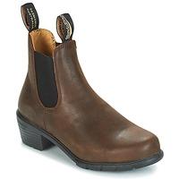 Schoenen Dames Laarzen Blundstone WOMEN'S HEEL CHELSEA BOOT 1673 Bruin