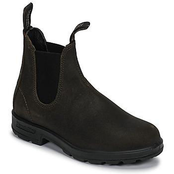 Schoenen Laarzen Blundstone ORIGINAL SUEDE CHELSEA BOOTS Kaki