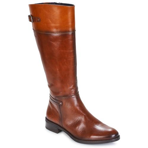 Schoenen Dames Hoge laarzen Dorking TIERRA Bruin