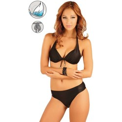 Textiel Dames Bikinibroekjes- en tops Litex Mix & Match zwarte push up bikinitop Sarah Zwart