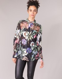 Textiel Dames Overhemden Guess CLOUIS Zwart / Multi