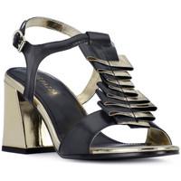 Schoenen Dames Sandalen / Open schoenen Apepazza NERO HEEL SANDAL Nero