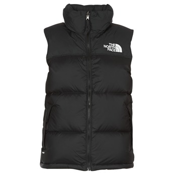 Textiel Dames Dons gevoerde jassen The North Face NUPTSE VEST Zwart